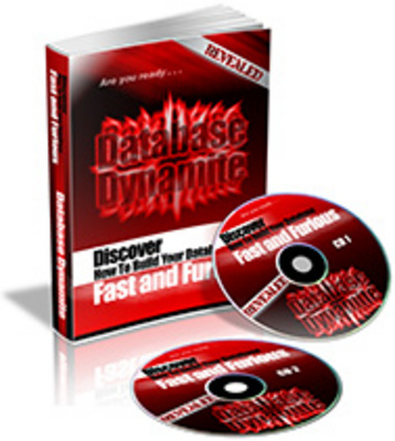 Product picture Database Dynamite eBook & Audio With PLR