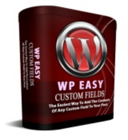Product picture WP Easy Custom Fields With PLR